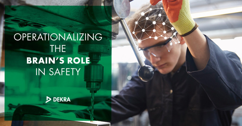 Learn more about the brain's role in safety at DEKRA's one-day seminar on 4/25 in Atlanta, GA