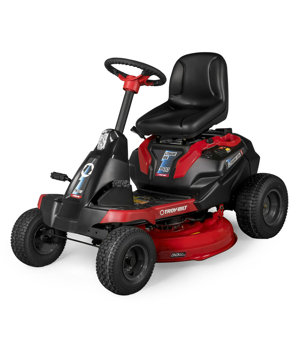 Troy-Bilt introduces the new TB30 E lithium-ion battery compact mid-mount residential mower to its expansive line of outdoor power equipment.