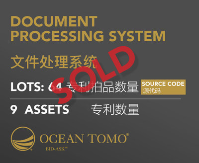 Patent Portfolio Sale Completed in 10 Days on Ocean Tomo Bid-Ask™ Market
