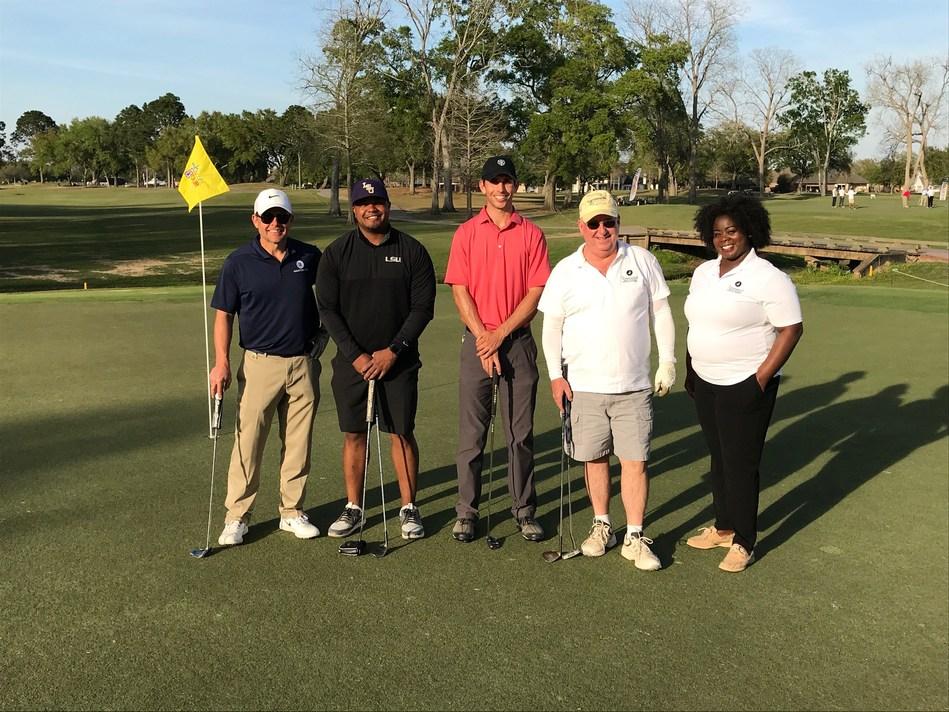 Jeff Johnson, Justin Vincent, Seth Reeves, Dr. Tony Alleman and Natashia Cheatham