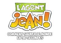 Super Agent Jon Le Bon TV series' logo, to premiere on air on Groupe Média TFO starting Friday, April 2, 2018 (CNW Group/Groupe Média TFO)