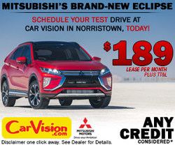 The 2018 Eclipse AWD with Super All-Wheel Control has arrived at Car Vision in Norristown!