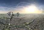 FlyView Takes You Flying Over Paris at One-of-a-Kind Virtual Reality Attraction (PRNewsfoto/FlyView)