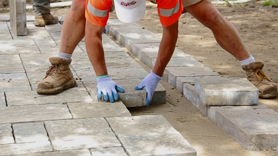 Experts say to hire contractors with ICPI Certified Concrete Paver Installers who follow industry best practices.