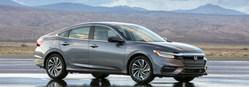 The new 2019 Honda insight hybrid sedan is researched by Matt Castrucci Honda in Dayton.