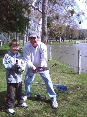 Excursión de pesca de verano