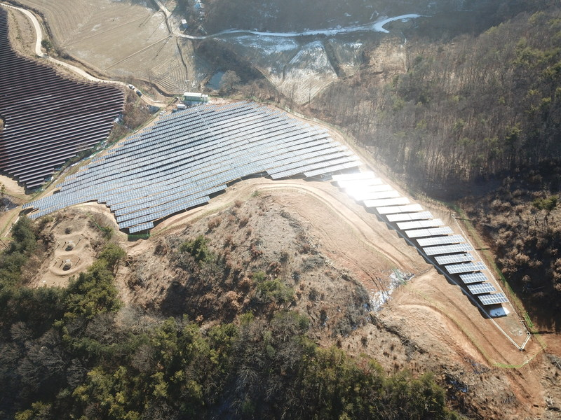 Sungrow supplied to a 1.5MW PV plant in Gongju-si, Chungcheongnam-do, South Korea