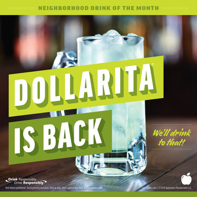 Applebee's(R) DOLLARITA(TM) is Back for the Month of April