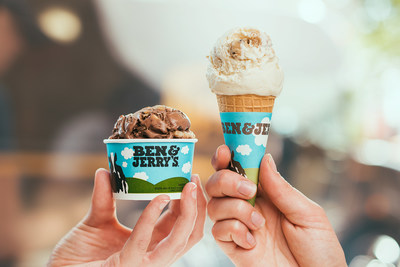 Ben and Jerry's host free cone day