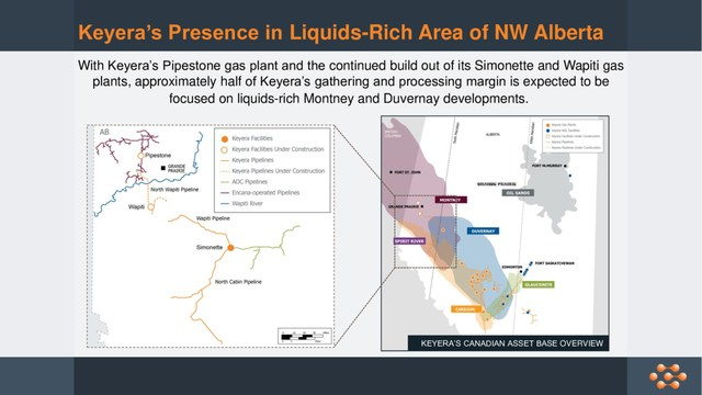 Increasing our Presence in Liquids-Rich Area of Northwestern Alberta (CNW Group/Keyera Corp.)