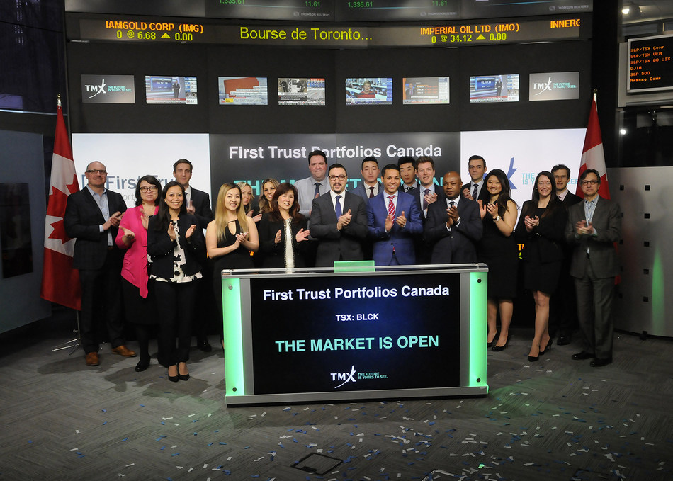 First Trust Portfolios Canada Opens the Market (CNW Group/TMX Group Limited)