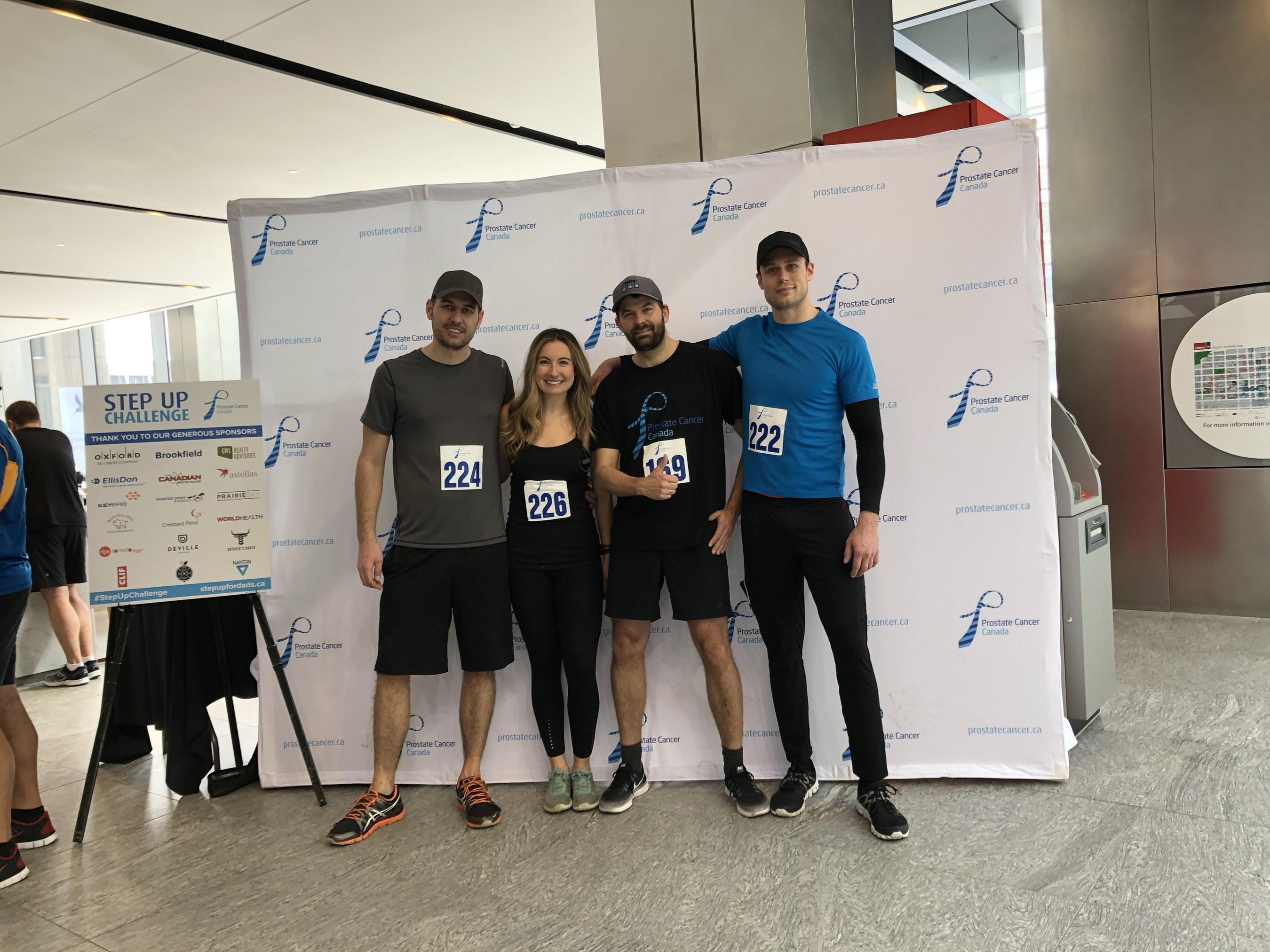 EllisDon Completes Prostate Cancer Canada's 2018 Step-Up