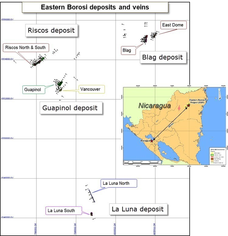 FIGURE 1   LOCATION PLAN MAP (CNW Group/IAMGOLD Corporation)