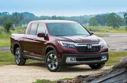 The 2019 Honda Ridgeline is rugged, yet refined with innovative features and upscale styling.