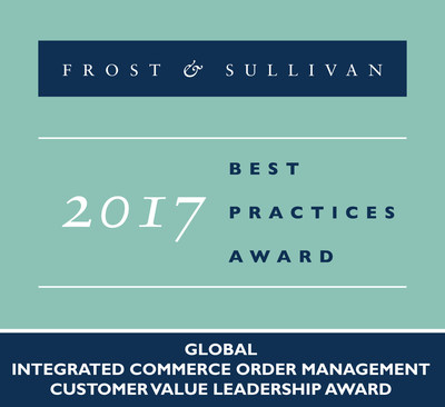 2017 Global Integrated Commerce Order Management�Customer Value Leadership Award