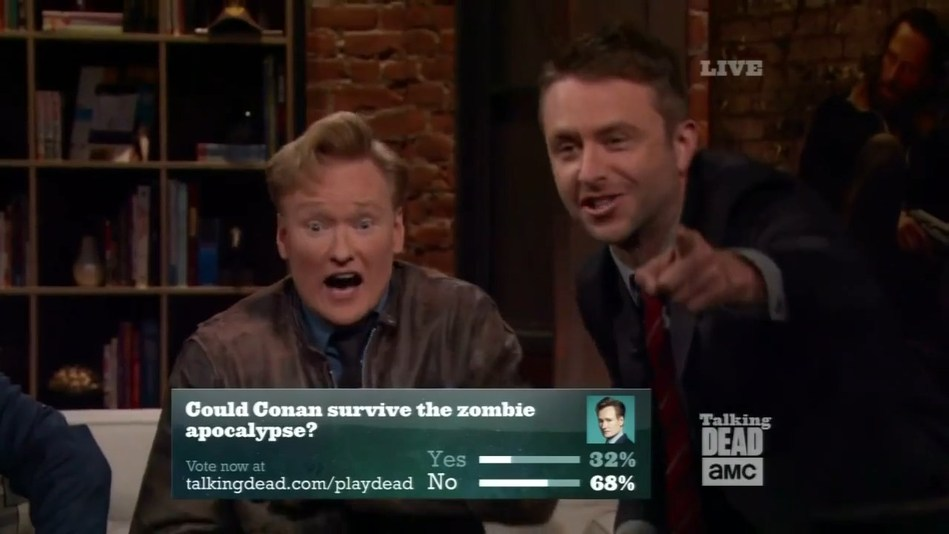 """A sample of Megaphone's Viewer Engagement Platform poll in action on the Emmy-nominated """"Talking Dead"""" on AMC. For more demos and information about Megaphone's viewer participation products, please visit Megaphone at NAB 2018 in the South Hall April 9-12, or email contact@megaphonetv.com"""