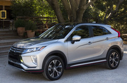 The all-new 2018 Mitsubishi Eclipse Cross offers upscale styling, innovative technology, and smart safety systems.