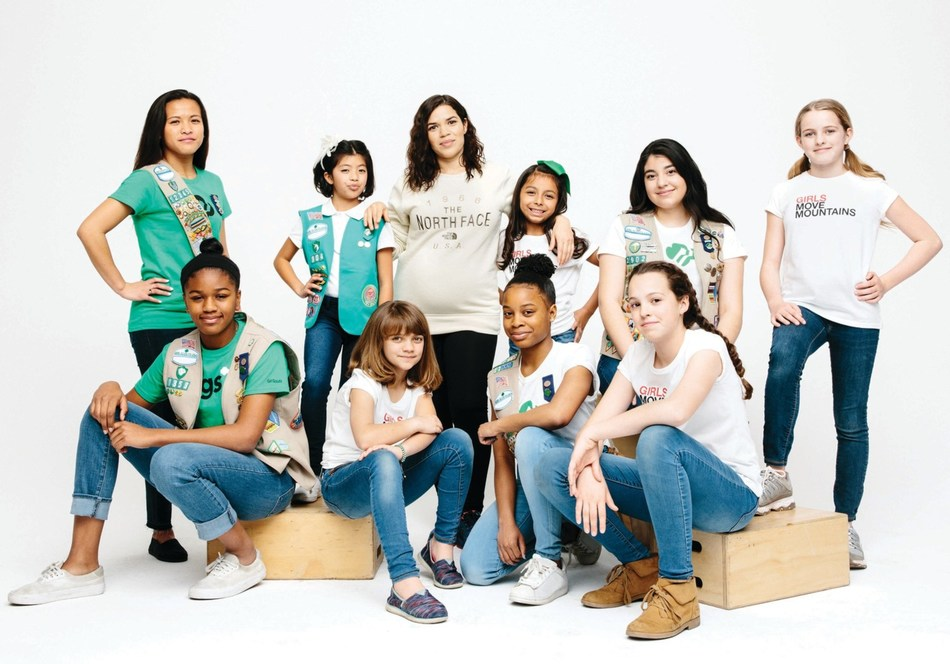 The North Face joins with actress, director, activist and former girl scout America Ferrera to encourage girls to explore.