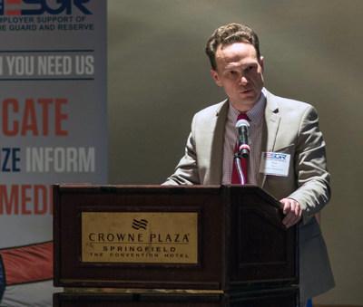 Matt Mercer, Regional Sales Manager, Hematology and Astellas' Military Employee Resource Group member