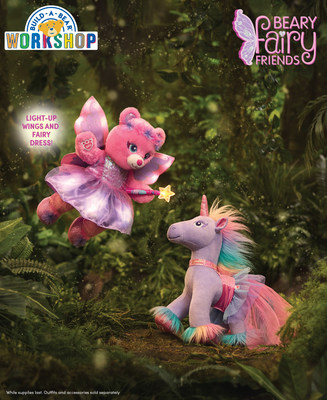 Build-A-Bear Workshop® today launched Beary Fairy Friends™, a new proprietary collection of fairy woodland-inspired characters and enchanting accessories. The experiential retailer will also host engaging Beary Fairy Friends events in stores throughout the month of April.