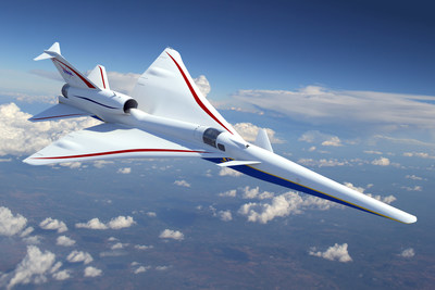 Nasa picks Lockheed Martin to build low-noise supersonic plane