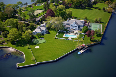 Waterfront estate in Greenwich formerly owned by President Donald Trump.  Photo Credit:  Coldwell Banker Residential Brokerage