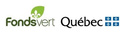 Logo : Fonds vert de Gouvernement du Québec (Groupe CNW/Vivre en ville)