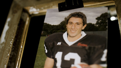 """The first Knight of Columbus to be featured in a new series on K of C """"Everyday Heroes"""" is 25-year-old Joe Reali. Passionate football player and fan, he set aside his love of sports to be at his mother's side during her battle with cancer."""