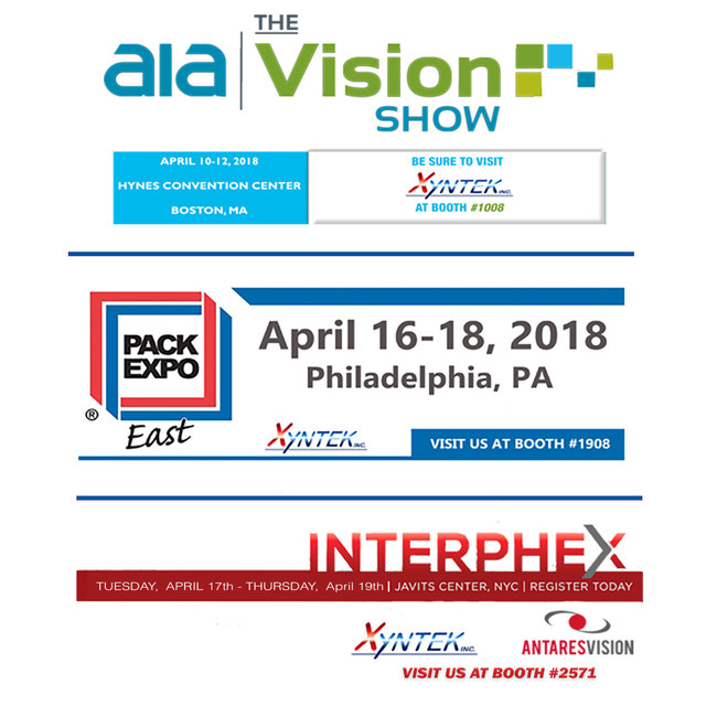 Xyntek will be showcasing their latest technologies and solutions specifically in the areas of Pharmaceutical Track & Trace (Serialization), Machine Vision, Collaborative Robotics, Big Data & Analytics, Industry 4.0 / IIoT integrated solutions, and Biometrics.