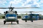 Sikorsky celebra 30 años de operación de los helicópteros Black Hawk en Latinoamérica