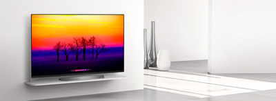 LG announces premium 2018 TV lineup, reinforcing leadership in expanding global OLED TV market with ThinQ® AI and a (Alpha) 9 Image Processor (CNW Group/LG Electronics Canada)