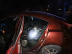 Le véhicule qui a été intercepté et qui contenait des sacs de tabac finement haché (Groupe CNW/Groupe de travail régional de Cornwall)