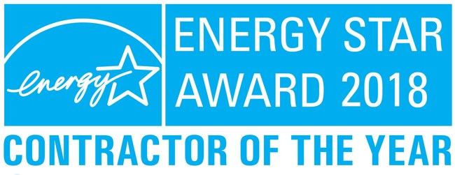 2018 ENERGY STAR CONTRACTOR OF THE YEAR
