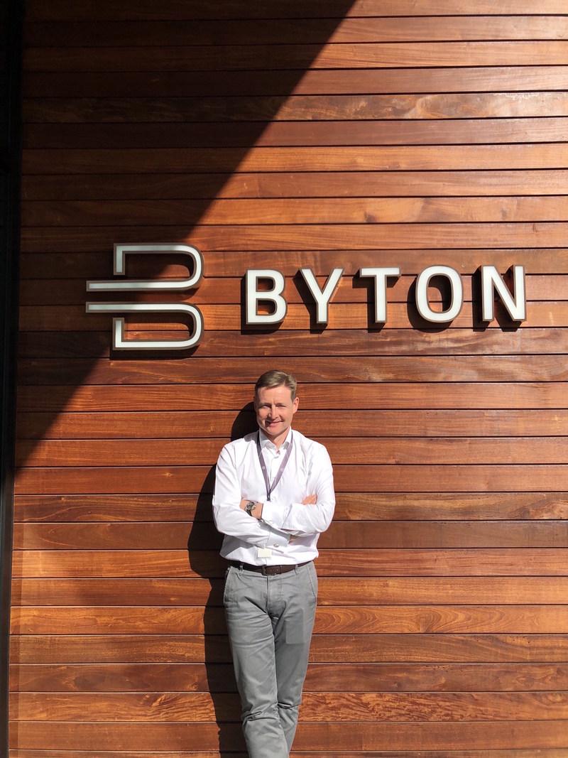 David Twohig, BYTON's chief automotive engineer