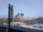 DroneShield's RFOne overlooking an Olympic venue at 2018 Olympic Winter Games (PRNewsfoto/DroneShield Limited)