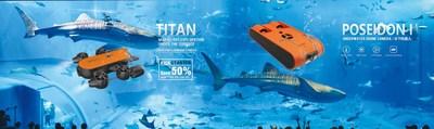 GENEINNO to feature Poseidon and Titan drones at ADEX 2018, Singapore