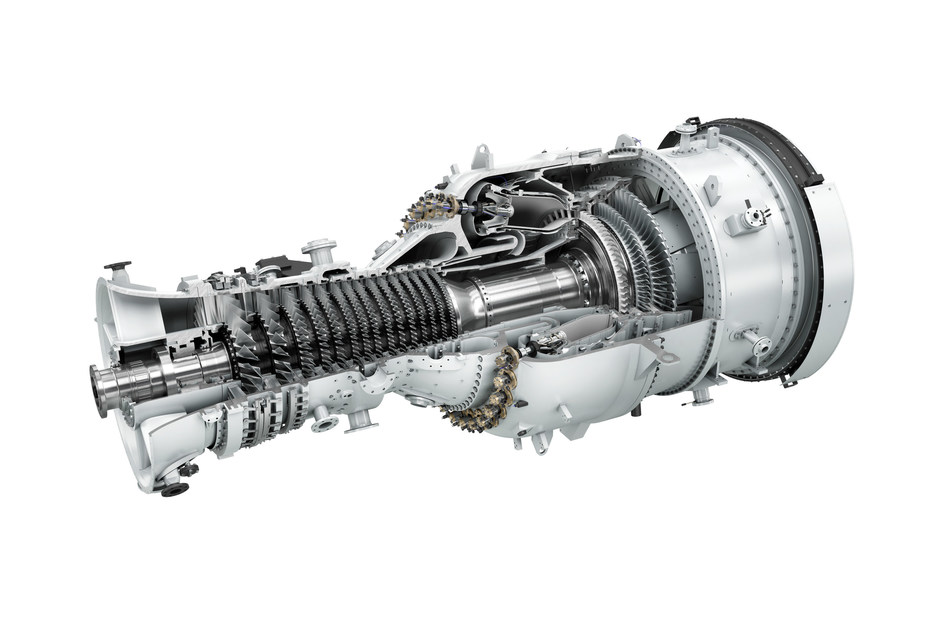 The Siemens SGT-800 industrial gas turbine combines a reliable robust design with high efficiency and low emissions. (CNW Group/Siemens Canada Limited)