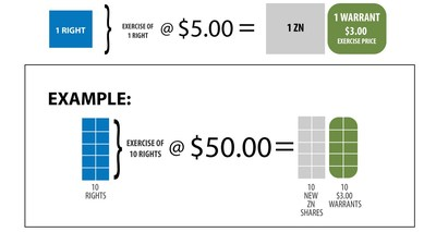 Rights Offering Explanation Graphic