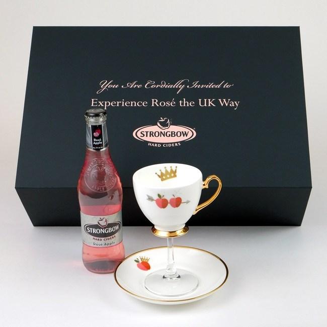The limited edition Royal Rosé Teacup Set.