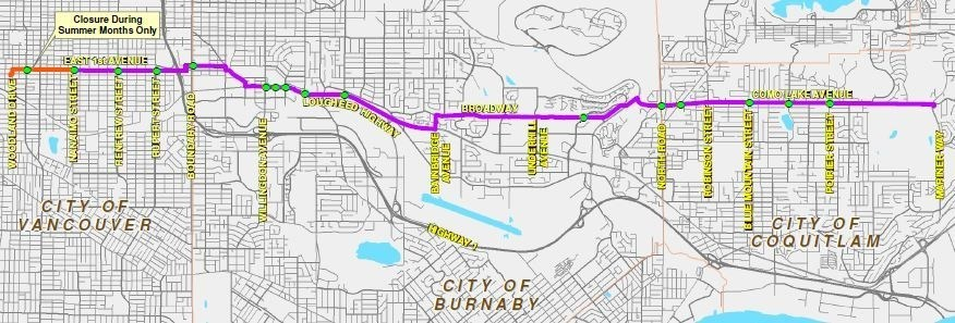 FortisBC gas line upgrades Vancouver, Burnaby and Coquitlam traffic impact (CNW Group/FortisBC)