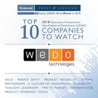 WeDo Technologies Named in Stratecast's Top 10 to Watch in 2018