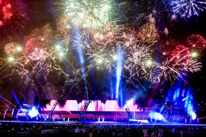 45 DEGREES – Dubai World Cup 2018 – Fireworks, Closing Ceremony (CNW Group/45 DEGREES)