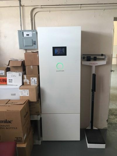 The sonnen smart energy storage system enables the Clinica Comunitaria de Utuado to provide urgent healthcare services to a remote community in Puerto Rico.