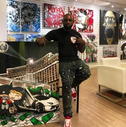 Inyo Las Vegas Dispensary Gave An Artist A Chance, Helps Change His Life