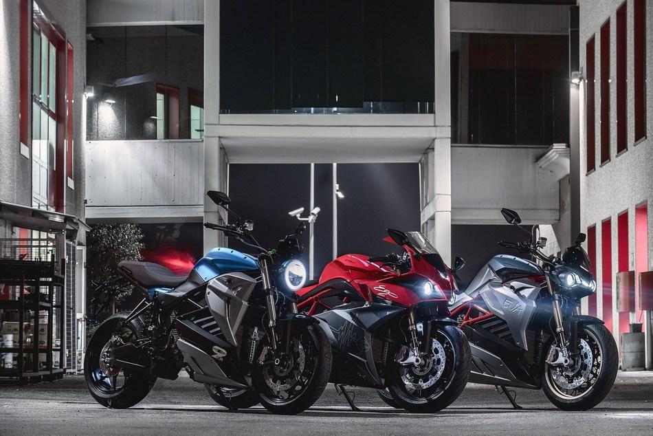 Energica Electric Motorcycles (PRNewsfoto/Energica Electric Motorcycles)