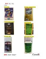 Unauthorized sexual enhancement products seized from George's Convenience and Nibo Cash and Carry (CNW Group/Health Canada)