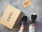 The new Awel Move, a shoe that's soft, breathable and adapts to your feet. (PRNewsfoto/Awel)