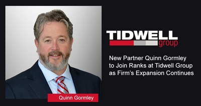 New Partner Quinn Gormley to Join Ranks at Tidwell Group as Firm's Expansion Continues