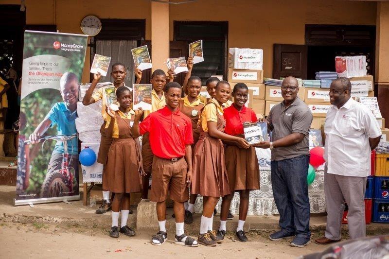 MoneyGram Foundation Supports Literacy in Ghana