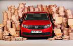 Dacia, the best value car brand in the UK, is celebrating saving customers a whopping £1.5billion since arriving in the UK five years ago, by saving you even more 'dough' this week. Dacia customers have saved an average of £13,100 each compared to average UK car buyer – that's the equivalent of 13 years' worth of takeaway pizza. To celebrate this, Dacia has teamed up with Deliveroo to offer the nation £13,100 worth of free pizzas this week. (PRNewsfoto/Dacia)
